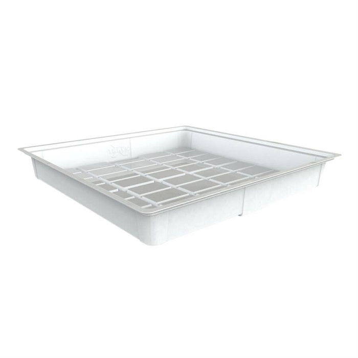 GROW1 4 X 4 Foot Flood Tray - White (Heavy Duty)