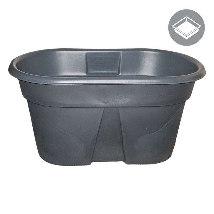 GROW1 155 Gallon Water Tank Reservoir Oval