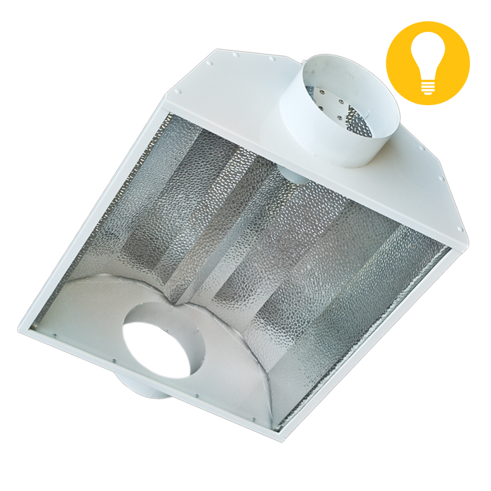 DL 6 Inch Basic Air-Cooled Reflector