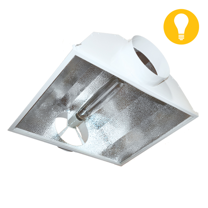 DL 8 Inch Hinged Air-Cooled Reflector