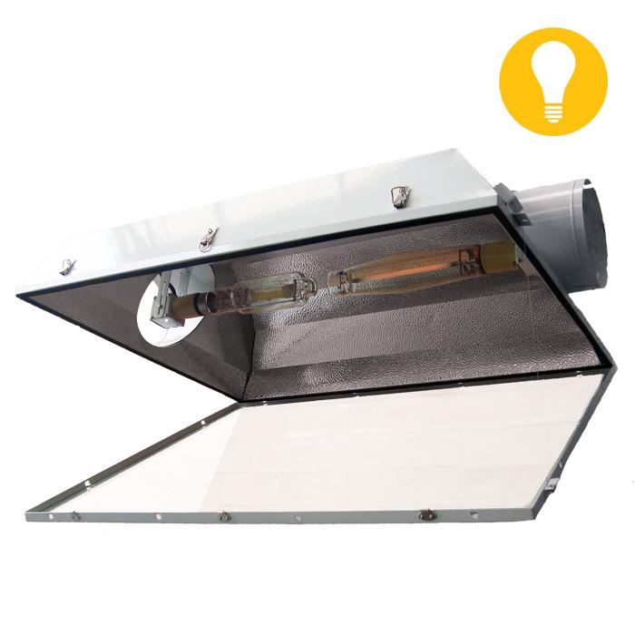 El Jefe 8 Inch Dual Lamp Reflector