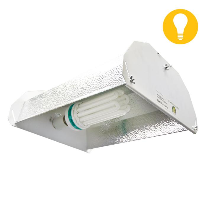 DL 125W CFL BuLB & Reflector Package