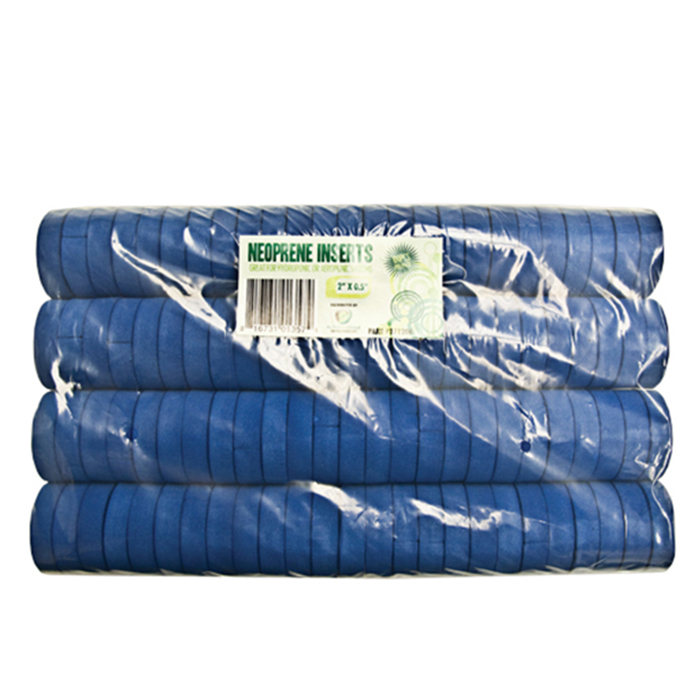 GROW1 2'' Neoprene Inserts (Sold 100 Per PACK) - Blue