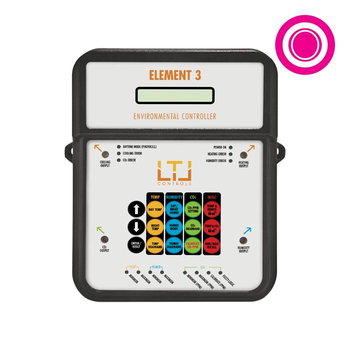 LTL ELEMENT3 Deluxe Digital Atmosphere Controls - 4 - outlets