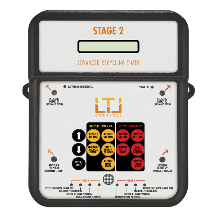 LTL STAGE2 Multi functional recycling timer 4-outlet