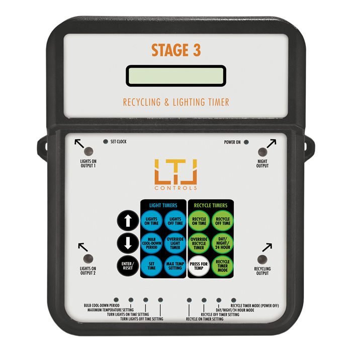 LTL STAGE3 Combination Recycling & Lighting timer 4-outlet