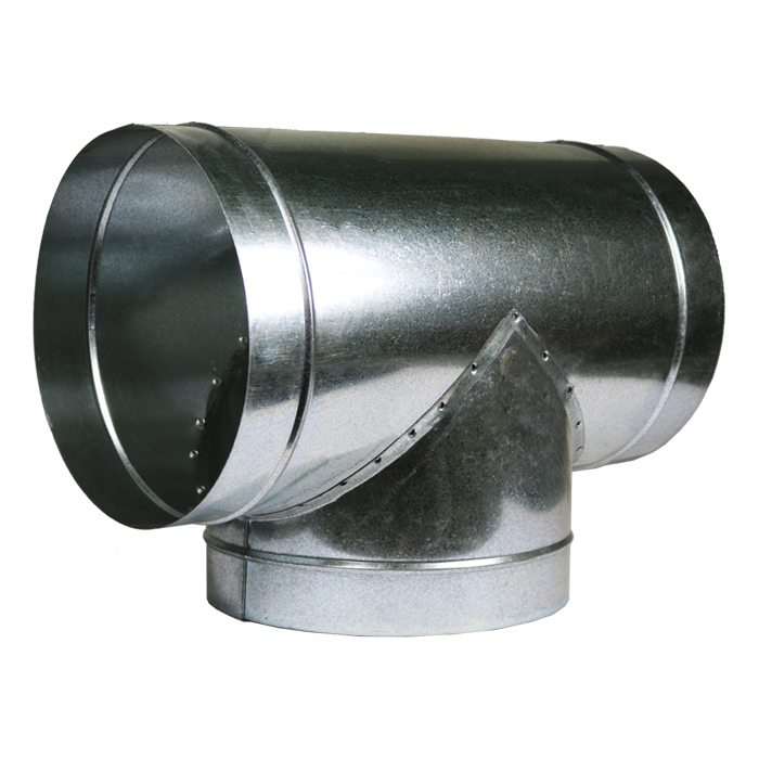 GROW1 8 X 8 X 8 T Duct Connector