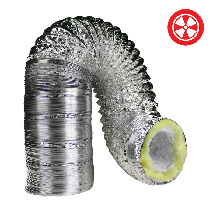 GROW1 10 X 25 Foot Insulated Ducting