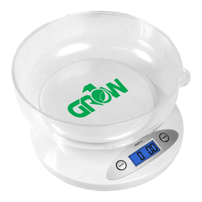 GROW1 Nutrient Digital Scale W/ bowl 2.5 LB.