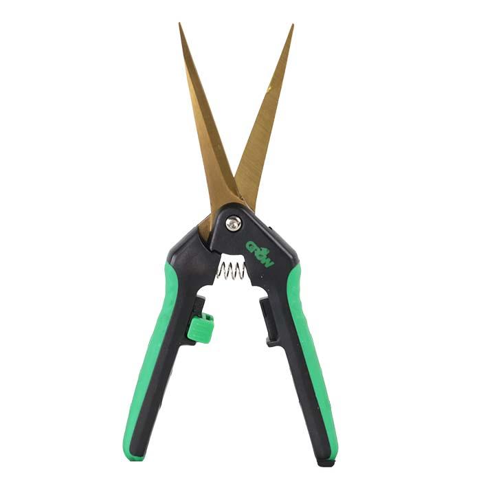 GROW1 Titanium Trimming Shears 3 1/4 Inch Straight Blade