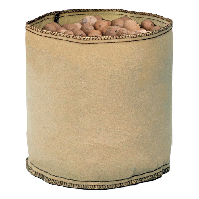 GROW1 1 Gallon Tan Fabric Pot