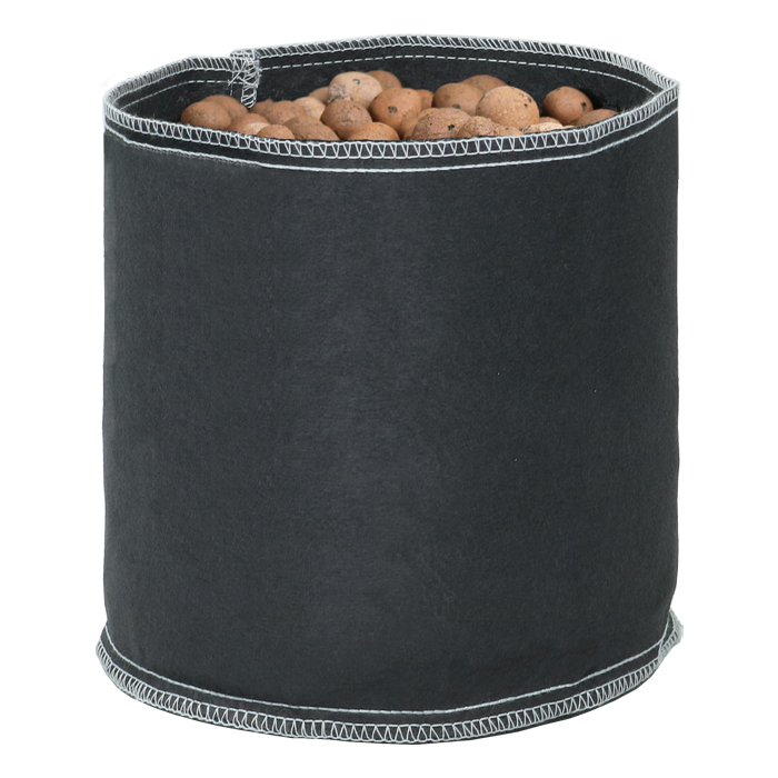 GROW1 1 Gallon Black Fabric Pot