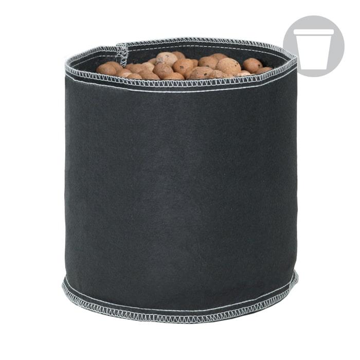 GROW1 600 Gallon Black  Fabric Pot