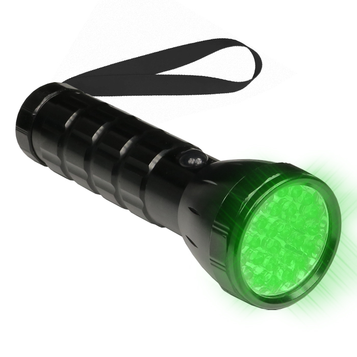 GROW1 Large Green LED Flash Light