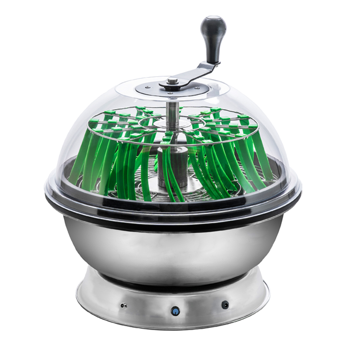 DL 18 Inch Clear Top Motorized Trimmer