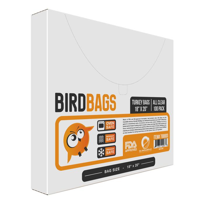 BirdBags Turkey Bag 100 PACK 18 X 20