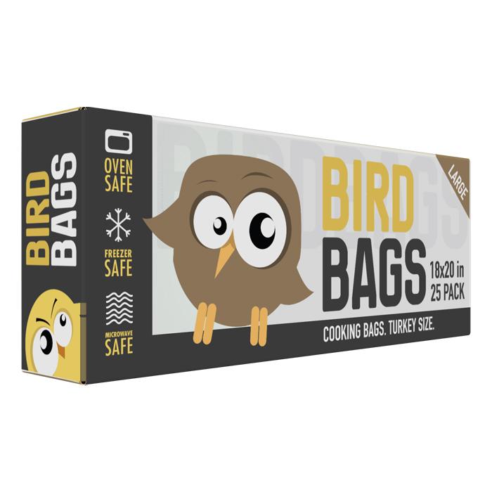 BirdBags Turkey Bag 25 PACK 18 X 20