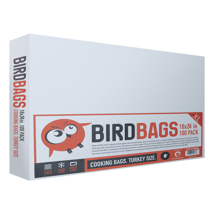 BirdBags Turkey Bag 100 PACK 18 X 24