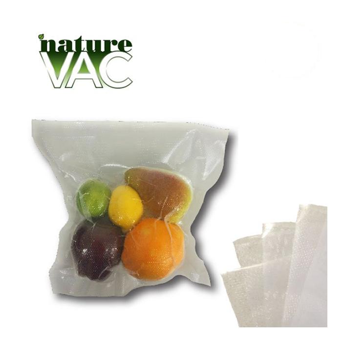 NatureVAC 11 X 24 Pre - Cut Vacuum Seal Bags All Clear - 50 PACK