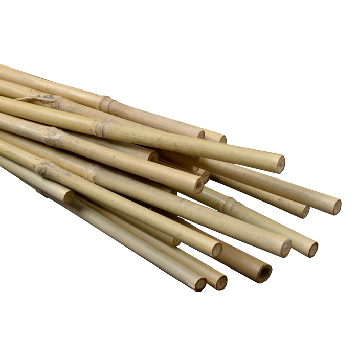 GROW1 4ft Natural Bamboo Stakes Bulk (500/bale)