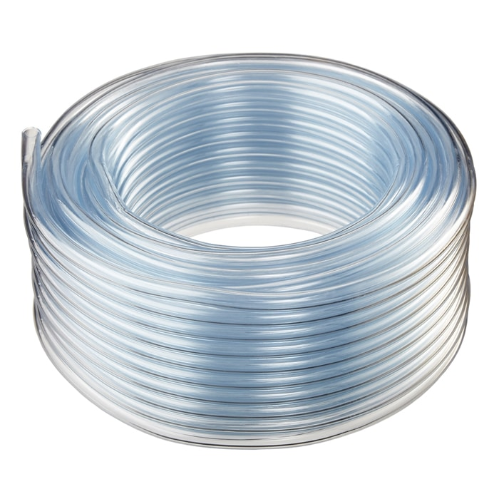 GROW1 3/16 X 1000 Foot Clear Food Grade Poly Tubing