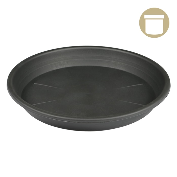 DL 16 Inch Heavy Duty Pot Saucer - EACH