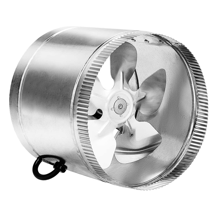 GROW1 8 Inch Booster In-Line Duct Fan