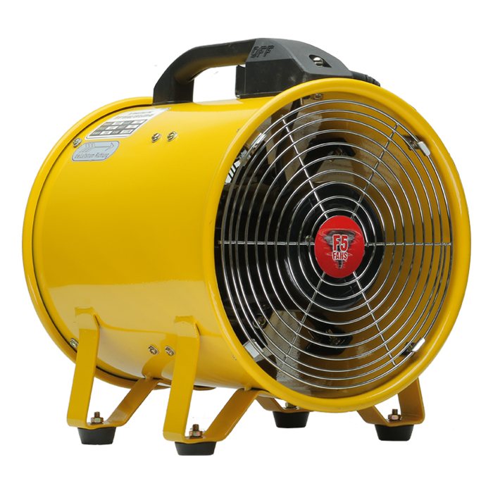 F5 Industrial 8 Portable Ventilation Axial Fan