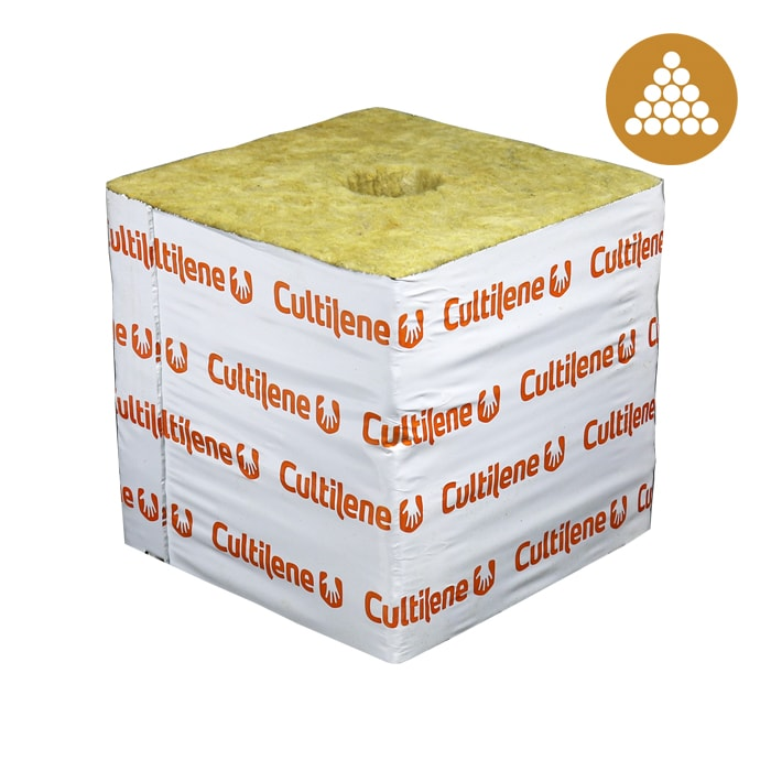 Cultilene 6x6x5.3 Block W/ Optidrain (48 pieces per carton/case)