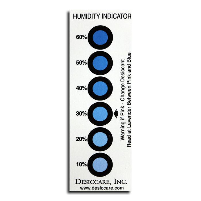 Integra Boost Humidity Indicating Cards of 10_PERCENT-60_PERCENT - 10 PACK