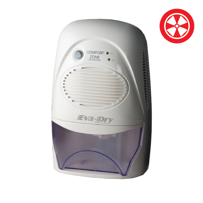 Eva-Dry EDV-2200 2 Pint Mini-Dehumidifier