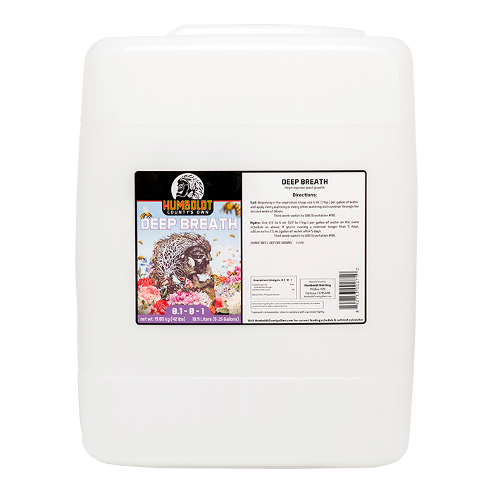 Humboldt Counties Own Deep Breath 5 Gallon