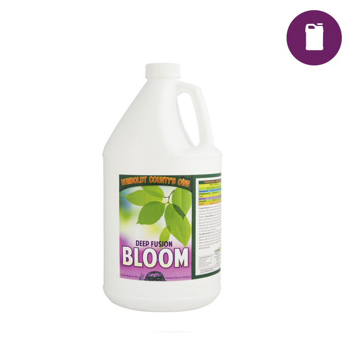 Humboldt Counties Own Deep Fusion Bloom/Hydro 2.5 Gal