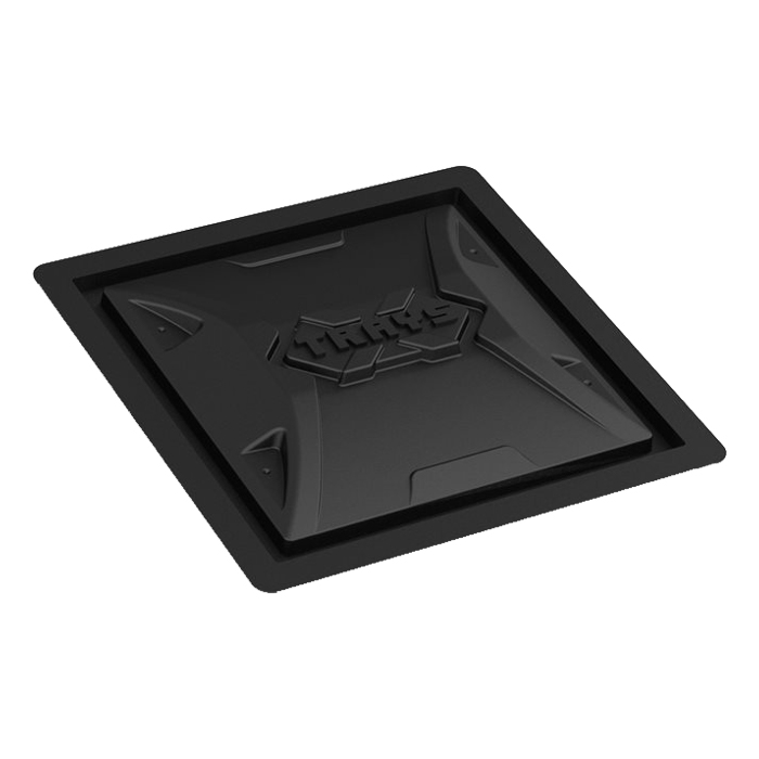 X - Trays Res. Lid 25 Gallon Black