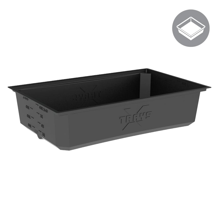 X-Trays Reservoir 100 Gallon Black
