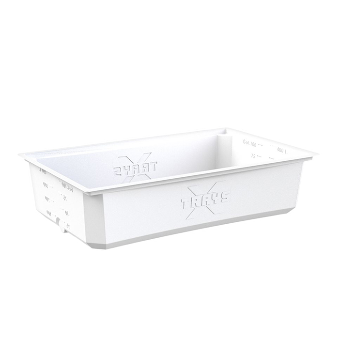 X-Trays Reservoir 100 Gallon White