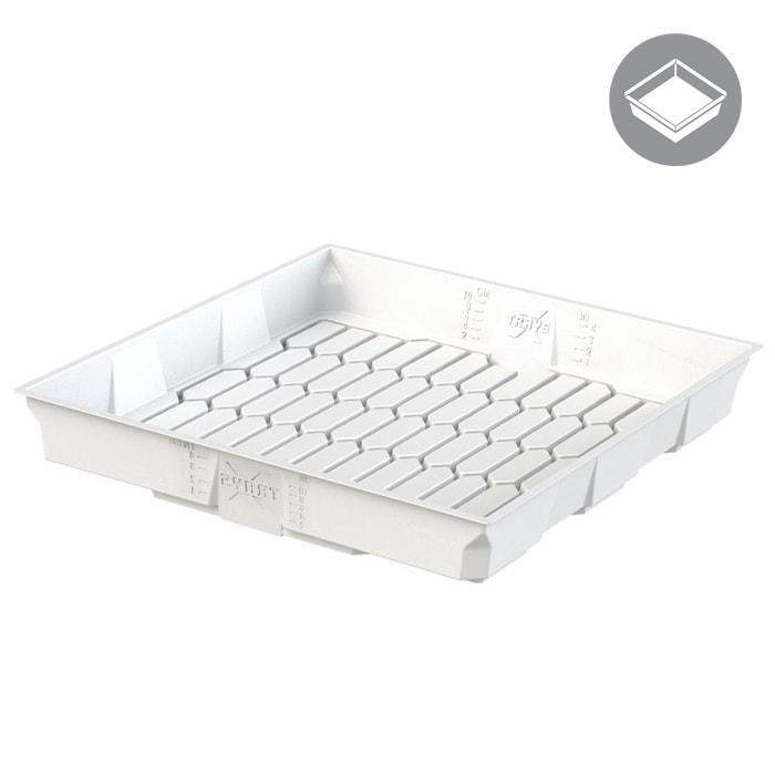 X - Trays 3x3 White Flood Table
