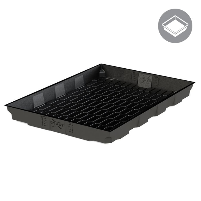 X - Trays 4x6 Black Flood Table