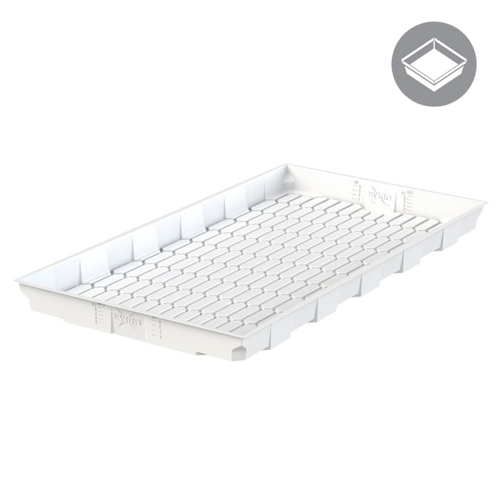 X - Trays 4x8 White Flood Table