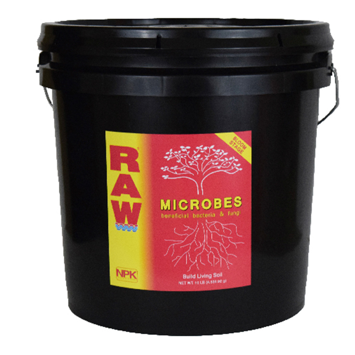 NPK RAW Microbes Bloom Stage 10LB