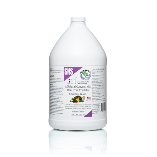 SNS 311 Plant & Vegetable Wash Gal