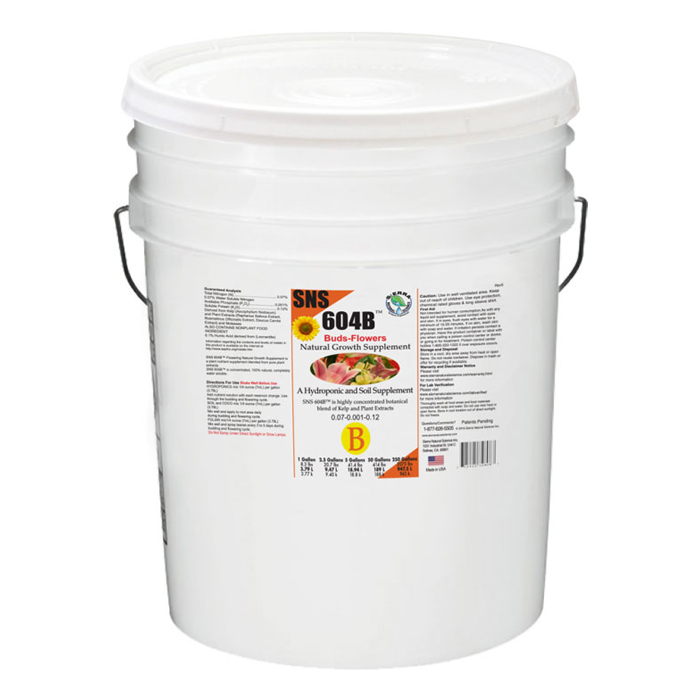 SNS 604B Growth Stimulator Concentrate 5 Gal