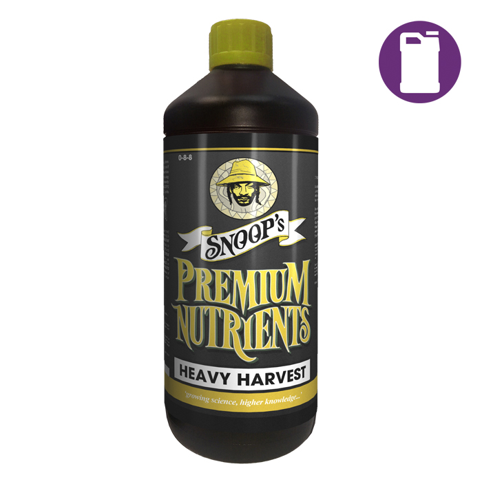 Snoopfts Premium Nutrients Heavy Harvest 20 Liter 0-8-8