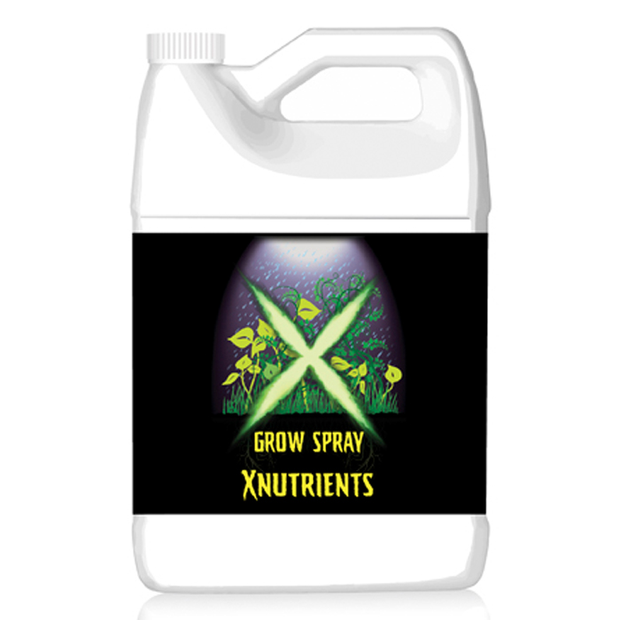 X Nutrients Grow Spray 1 Gallon