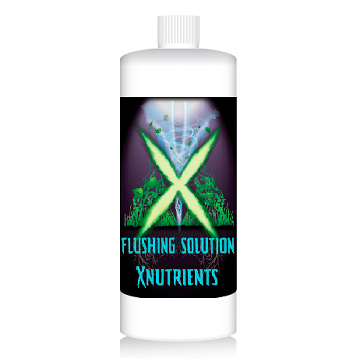 X Nutrients Flushing Solution 1 Quart