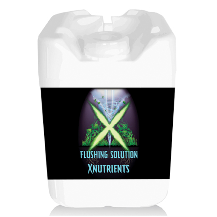 X Nutrients Flushing Solution 5 Gallon