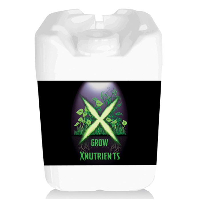 X Nutrients Grow Nutrients 5 Gallon